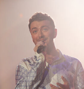 Sam Smith has something naughty to show you