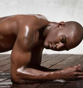 Queer Eye's Karamo Brown shows off fine assets, but don't enjoy them TOO much