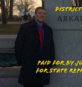 "This statehouse candidate just made ""f*gs are disgusting"" his new campaign slogan"
