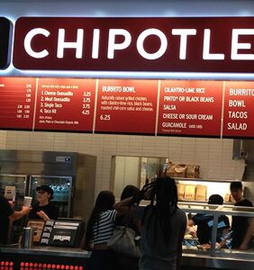 Which fashion icon just got engaged at Chipotle?