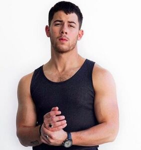 Nick Jonas shares his salad tossing techniques