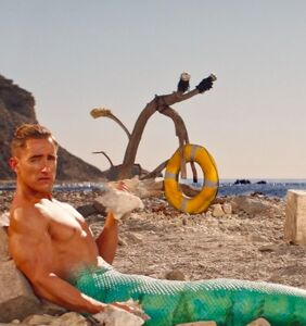 """Hot mermen want you to gobble up their """"easy protein"""" in thirsty new seafood commercial"""