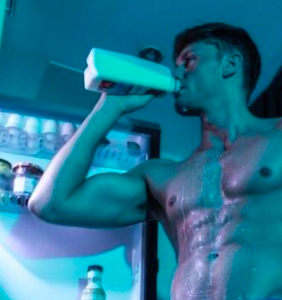 """Charles Laurent Marchand's milky photo """"leak"""" leaves zero to the imagination"""