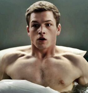 Taron Egerton really wants you to see him naked