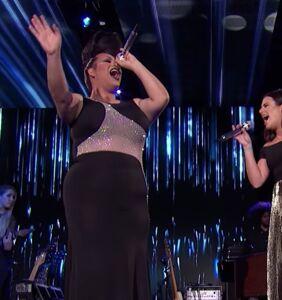 "WATCH: Ada Vox SLAYS ""Defying Gravity"" with Lea Michele on American Idol"