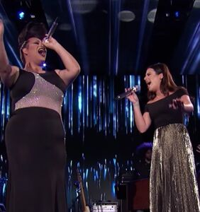 "WATCH: Ada Vox SLAYS ""Defying Gravity"" with Lea Michele on American Idol"