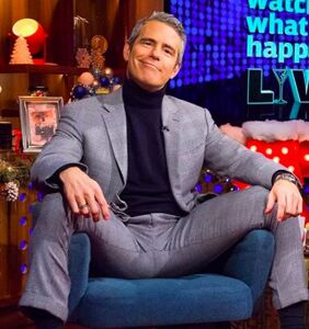 Andy Cohen shares furry musclebound throwback photo