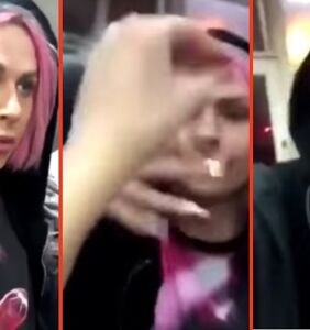 Video of Farrah Moan and Shea Coulee being attacked by homophobe in kebab shop goes viral