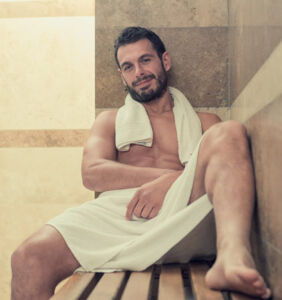 Straight guy SHOCKED at what goes on in Equinox steam room during lunch hour. Now he's suing?