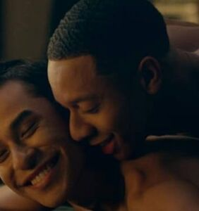 "GIFs from that awkwardly hot gay sex scene on ""Dear White People"" have hit the web"