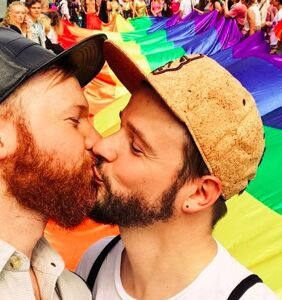 Meet Karl & Daan, the sexy Dutch couple who are the Pride of Amsterdam