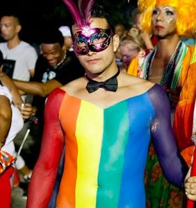 PHOTOS: Pride partiers take to the streets in Havana, Cuba