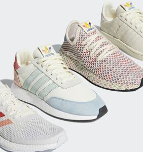 Adidas celebrates Pride with four new limited edition sneakers