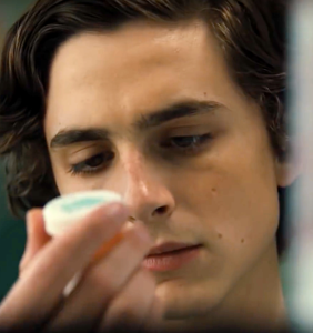 "Timothée Chalamet is addicted to meth in ""Beautiful Boy"""
