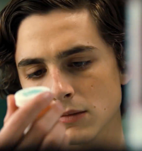 "Timothée Chalamet is addicted to meth in ""Beautiful Boy"""