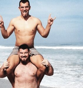 The world's second strongest man just split up with his boyfriend