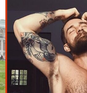 """PHOTOS: Russian artist's incredible transformation from twink to """"muscle daddy"""""""