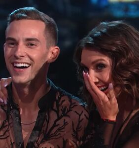 Watch Adam Rippon sissy that walk on primetime TV