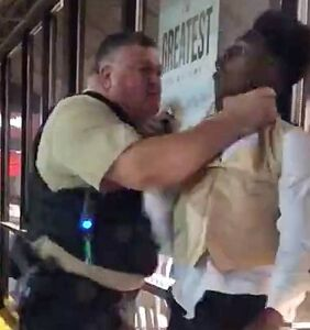 Man choked by cop outside Waffle House in viral video says he was also subjected to antigay slurs