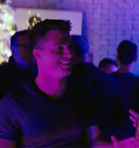 Watch Colton Haynes try to get fresh with Nick Robinson