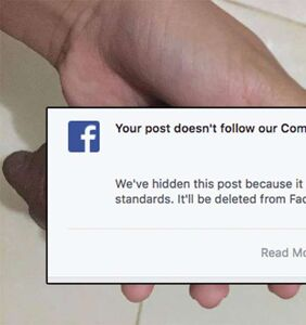 Facebook bans teen's puppy photo, and the reason is something you can't unsee