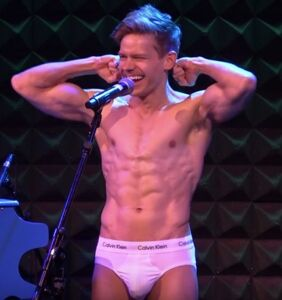Broadway star Andrew Keenan-Bolger strips down and sings about boys
