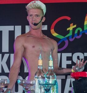 Denver Bartender David Smithey says the best cruising spot during Pride is actually his house