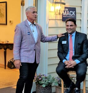 Guess who showed up to support Kevin Mack, Maryland's HIV-positive candidate?