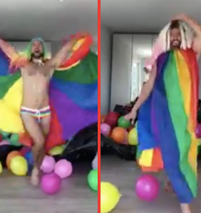 Defying all logic, this guy just managed to make Pride even gayer