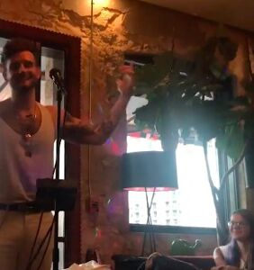 'Younger' star Nico Tortorella performs hypnotic barefoot poetry in Austin