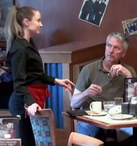 Religious couple scolds waitress for being gay… What happens next may surprise you