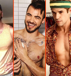 Aydian Dowling's shower, Russell Tovey's peach, & Andy Cohen's manspread