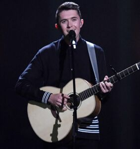 Ryan O'Shaughnessy, straight performer who sang out for same-sex love on Eurovision
