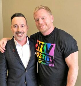David Furnish talks Sir Elton, PrEP and U=U at AIDS2018 confab