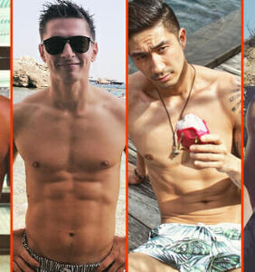 Adam Peaty's breast sweat, Tyson Beckford's tan lines, & Jack Falahee's sweet treat