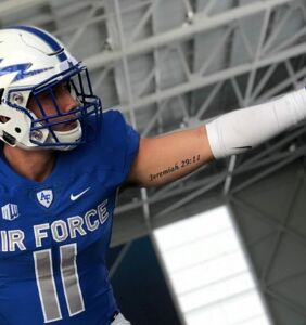 """Air Force football player has something to say: """"I'm gay."""""""