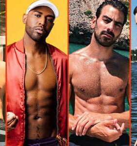 Nyle DiMarco's wet shorts, Jimmy Fowlie's Pacific dip, & Eliad Cohen's fur