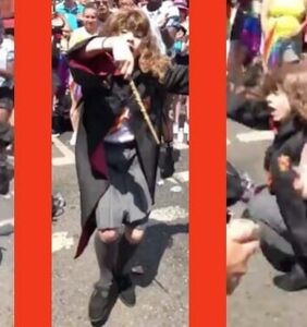 WATCH: Hermione from 'Harry Potter' went to Pride and it was lit