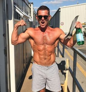 Everyone's salivating over these photos of soap star Scott Maslen's newly transformed physique