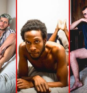 This raw photo series highlights sexy men of all shapes and sizes in their underpants