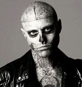 """Rick """"Zombie Boy"""" Genest, from Lady Gaga's """"Born This Way"""" video, has died"""