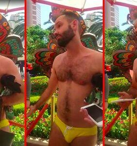 Can someone please school gay Speedo activist Chris Donohoe on white privilege?