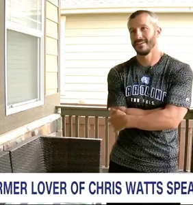 """Man claiming to be secret lover of accused wife killer Chris Watts: """"He was attracted to me as a male"""""""