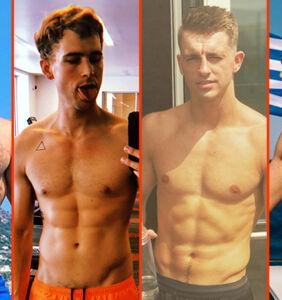 Gus Kenworthy's burn, Nyle DiMarco's squat, & Steve Grand's cold shower