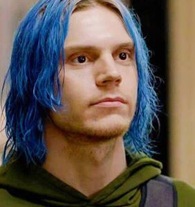 """Evan Peters let it all hang out while filming """"American Horror Story"""""""
