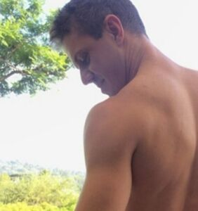 It's big, it's bushy, and Jake Shears just shared a video of it