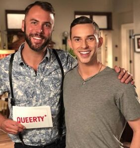PHOTOS: Adam Rippon on Will's couch, beef squared, three-way selfies & more!