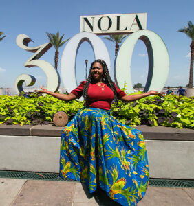 """PHOTOS: This goddess shows you how New Orleans invites your beautiful """"authentic self"""""""