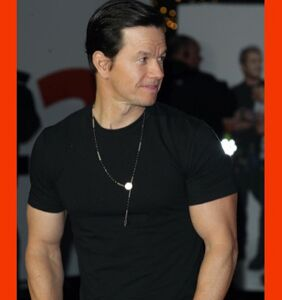 Mark Wahlberg photographed touching himself — an homage to his past?