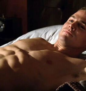 """""""Gay for (low) pay"""": Fans outraged over Stephen Amell's t-shirt saying he'd go gay for $20"""